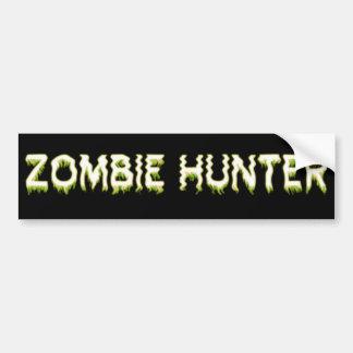 Zombiejägare Bildekal