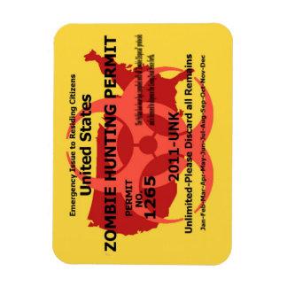 Zombiejakttillstånd Magnet