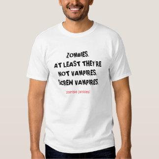 Zombieknarkare! Skruva vampyrer T T-shirts