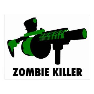 Zombiemördare Vykort