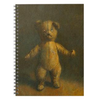 Zombienallen noterar boken anteckningsbok