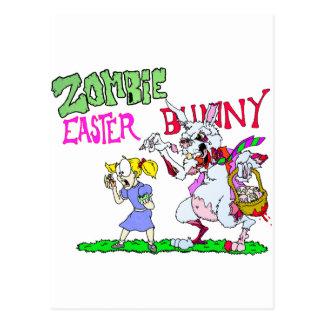 Zombiepåskhare Vykort