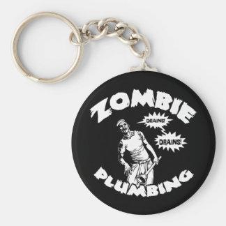 Zombierörmokeri Rund Nyckelring