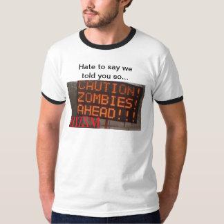 Zombies framåt tee shirts
