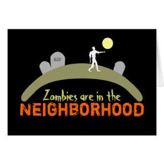 Zombies Hälsningskort