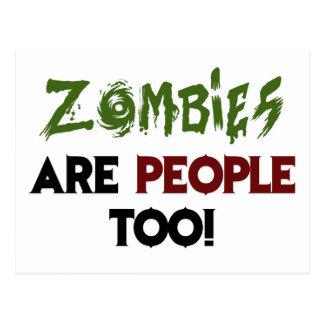 Zombies! Vykort
