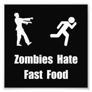 Zombieshatsnabbmat Fototryck