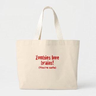 Zombieskärlekhjärnor! Du är säker Tygkassar