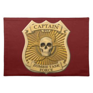 Zombiespecialgrupp - kaptenemblem bordstablett