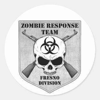 Zombiesvarslag: Fresno uppdelning Runt Klistermärke
