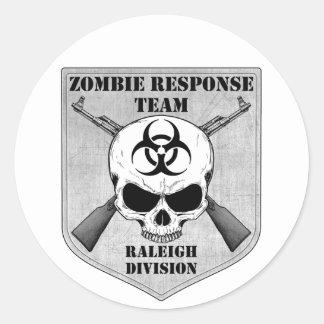 Zombiesvarslag: Raleigh uppdelning Runt Klistermärke