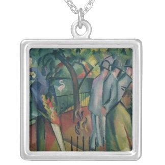 Zoologisk trädgård mig, 1912 silverpläterat halsband