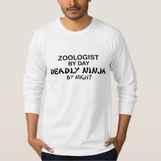 Zoologist dödliga Ninja vid natt Tröjor