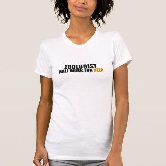 Zoologist-Ska arbete för öl T-shirt
