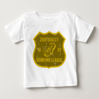 Zoologist som dricker ligan t-shirts