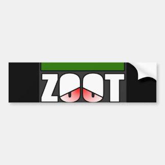 Zootstep zooted rolig DUBSTEP Bildekal