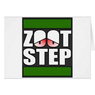 Zootstep zooted rolig DUBSTEP Hälsningskort
