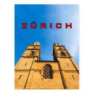 Zurich 001C Vykort