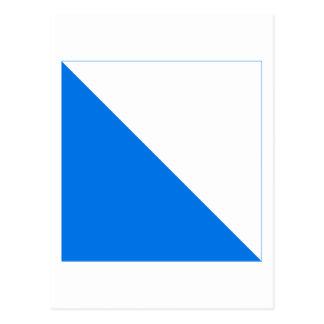 Zurich flagga vykort
