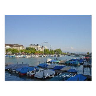 Zurich Schweitz Vykort