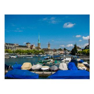 Zurich Schweitz - vykort