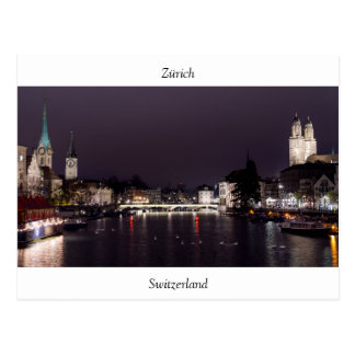 Zürich vykort