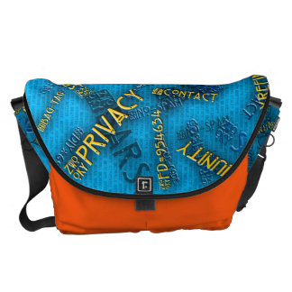 ZWOOKY: Stor messenger bag #3
